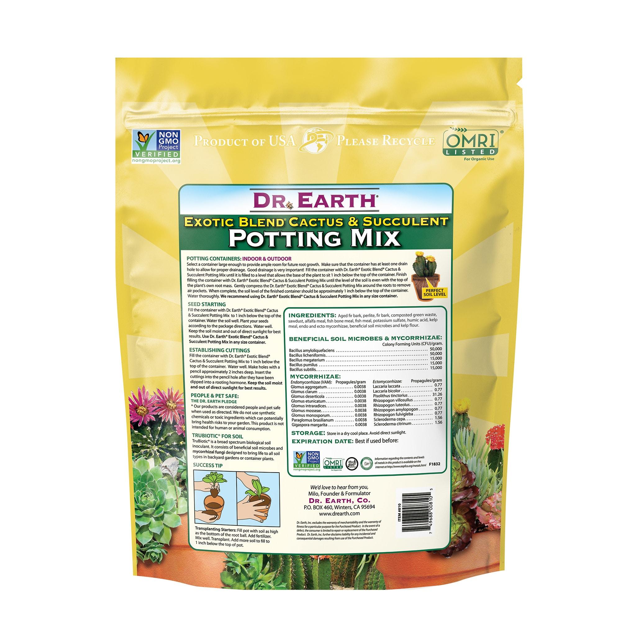 Exotic Blend Cactus & Succulent Potting Mix
