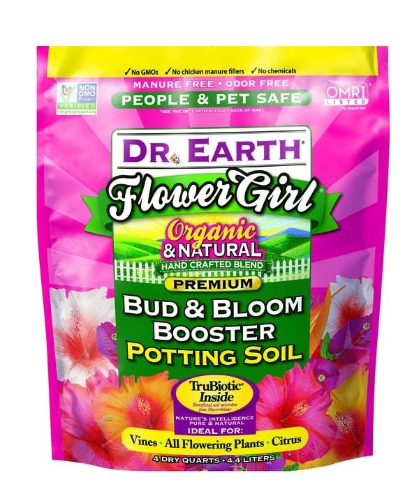 FLOWER GIRL® BUD & BLOOM BOOSTER POTTING SOIL 4qt