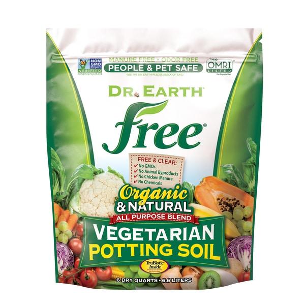 FREE® VEGETARIAN POTTING SOIL