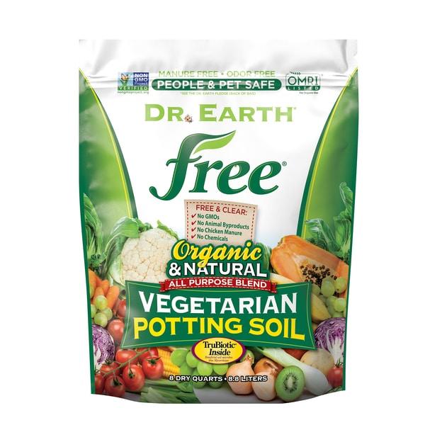 FREE® VEGETARIAN POTTING SOIL 8qt