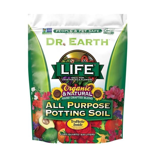 LIFE® ALL PURPOSE POTTING SOIL 8qt