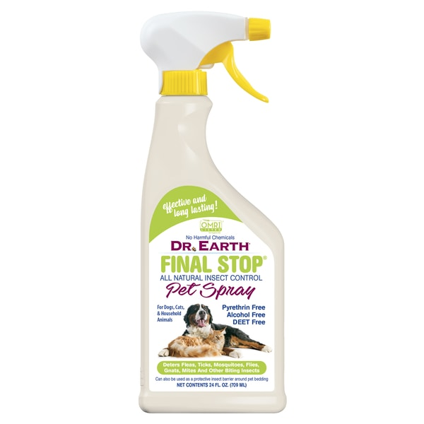FINAL STOP® PEST CONTROL PET SPRAY