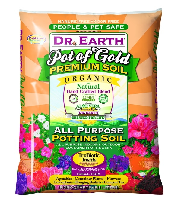 POT OF GOLD® ALL PURPOSE POTTING SOIL 8 quart